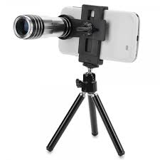 12X Telephoto Lens With Tripod