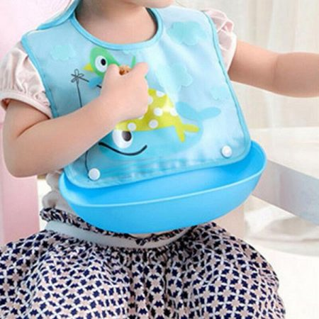 Baby Bib With Detachable Tray