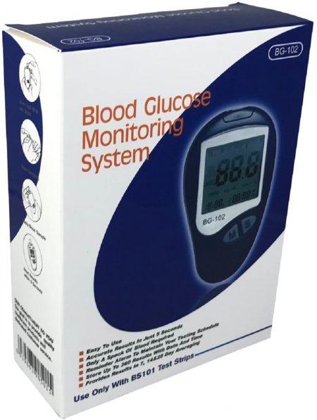 BLOOD GLUCOSE MONITORING SYSTEM BG-102