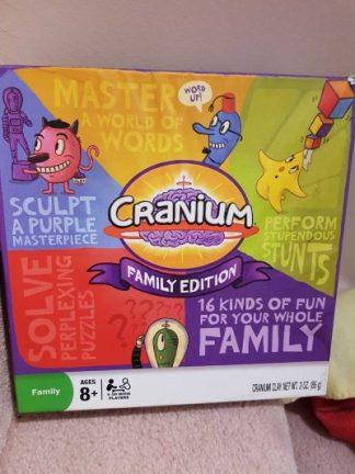 CRANIUM FAMILY EDITION BOARD GAME