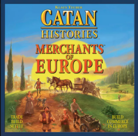 CATAN HISTORIES MERCHANTS OF EUROPE BOARD GAME