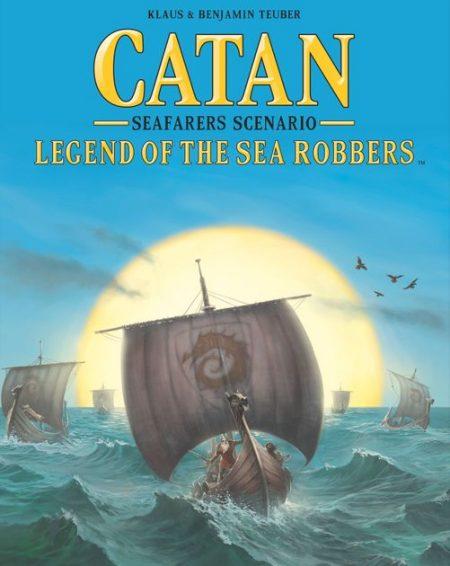 CATAN SEAFARERS SCENARIO LEGEND OF THE SEA ROBBERS BOARD GAME
