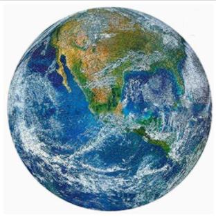 1000PC EARTH PUZZLE